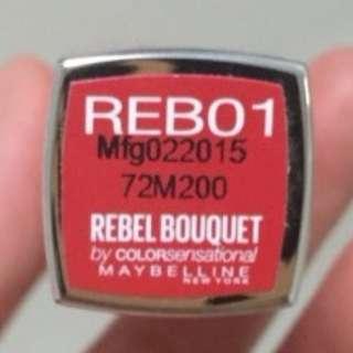 Maybelline紅色唇膏