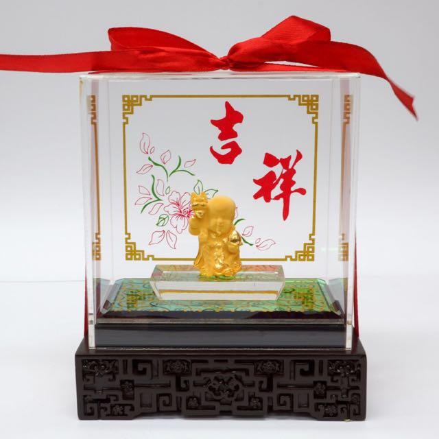 24K Gold Ornament (寿星)