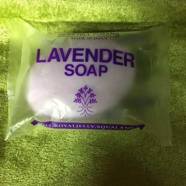 老闆不賣了-北海道薰衣草肥皂