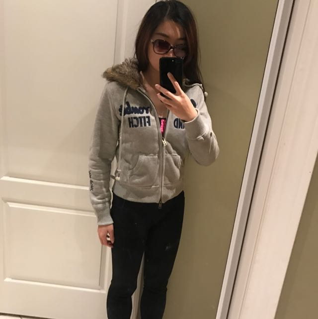 Abercrombie And fitch Hoodie Jacket