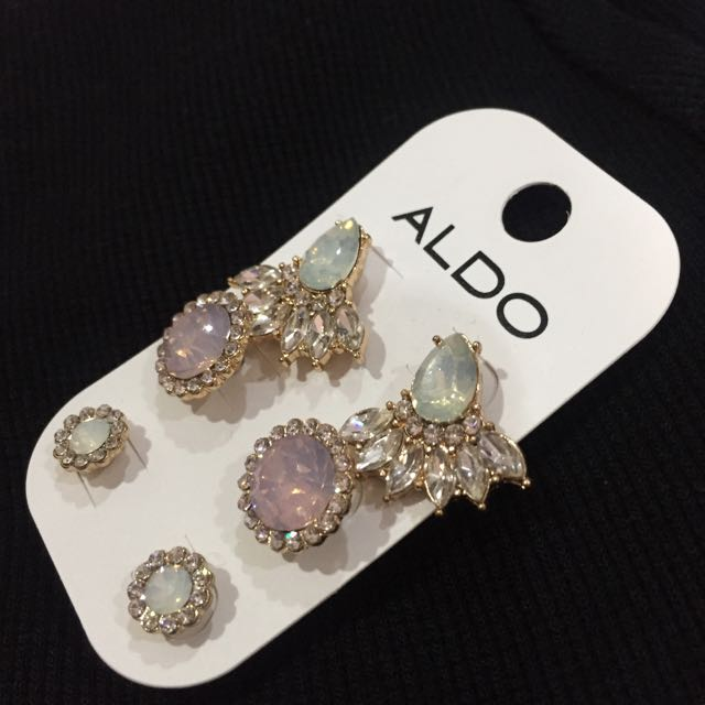 Anting Aldo (3 Pairs)