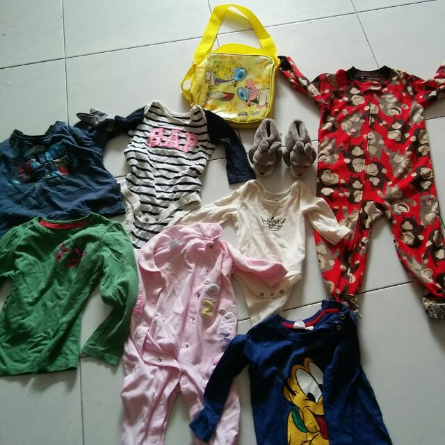 Baby Bundle For 15sgd All