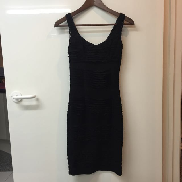 Black Bodycon Dress Size 8/XS