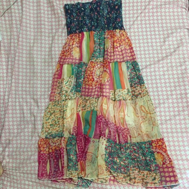 Boho Flowy Dress