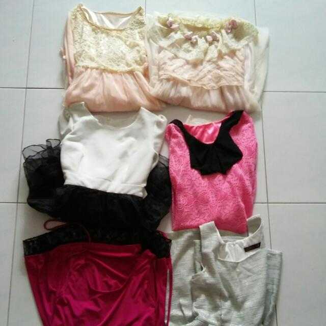 Bundle @10sgd Teens Dresses