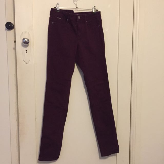 Burgundy Jeanswest Skinnies