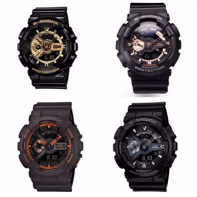 CASIO/卡西歐G-SHOCK Baby-G 運動手錶 時尚電子錶 防水 男錶 女錶 情侶對錶 GA-110 手錶