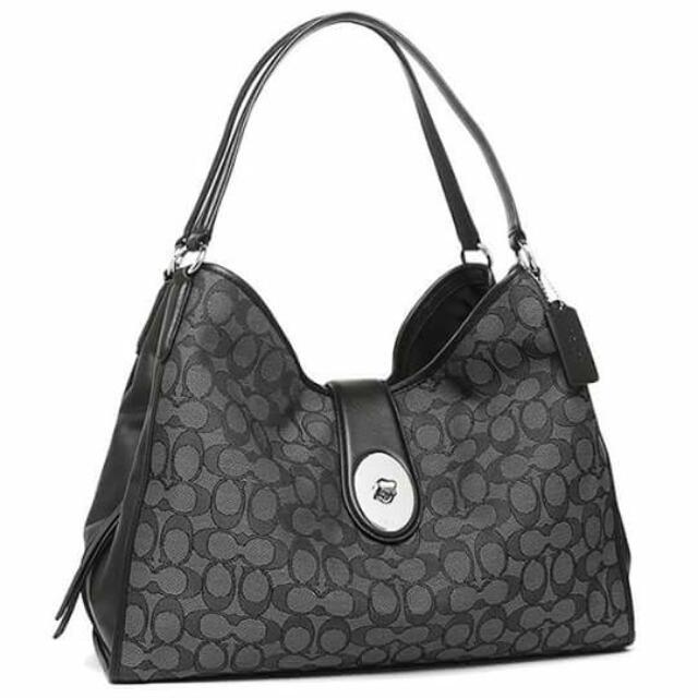 COACH Carlyle Shoulder Bag in Signature