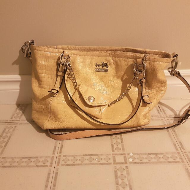 Coach Leather Crossbody/shoulder Limited Edition Bag