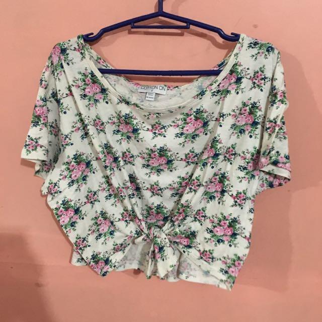 Cotton On Floral Croptop