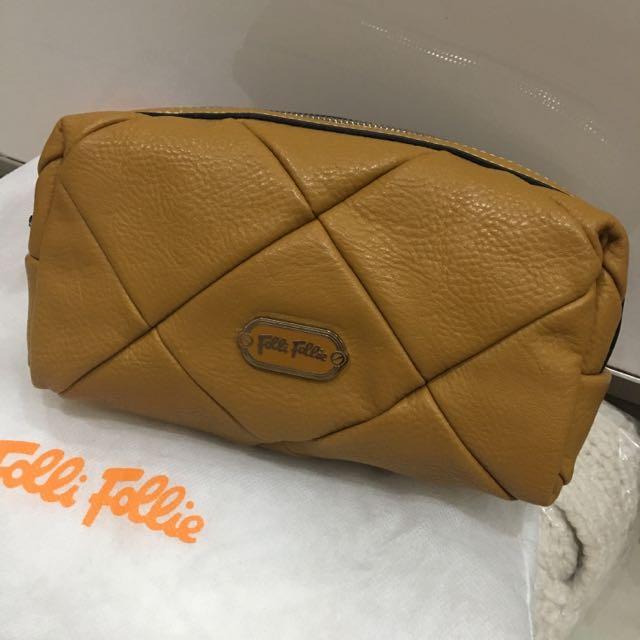Follie Follie Patch Tassel Cosmetic Bag