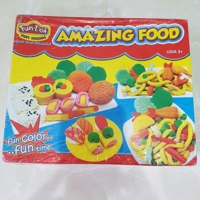 Fun Doh type Food
