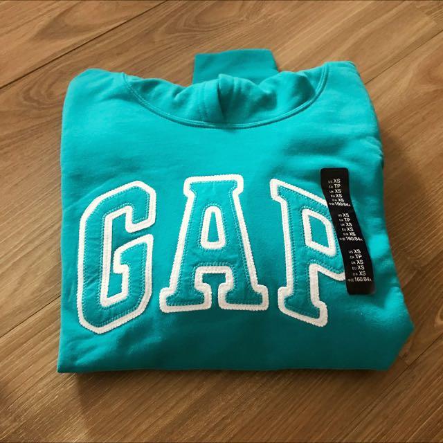 Gap Hoodie  帽踢 XS Baby blue