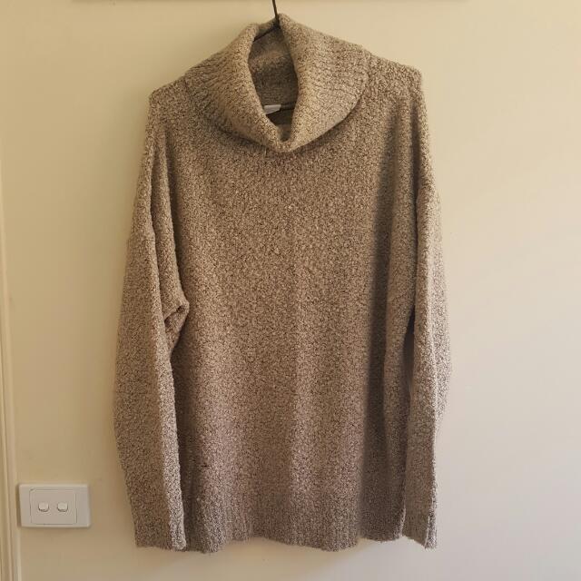 Grey Knit Jumper