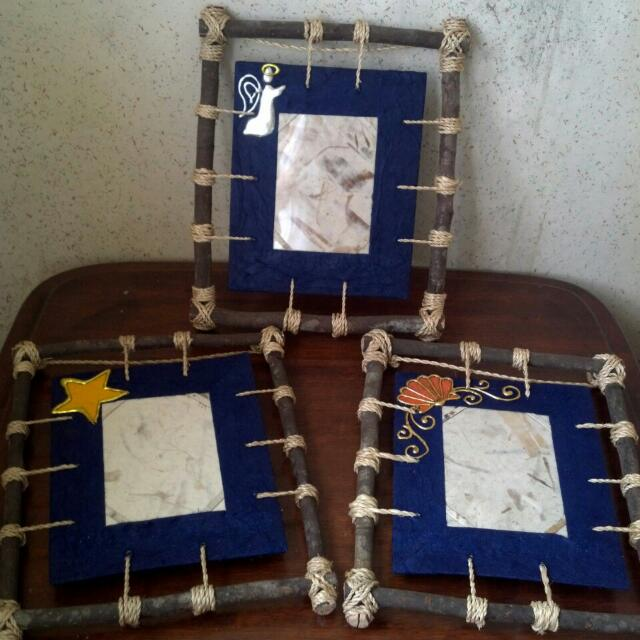 Handcrafted Picture Frames (8 Pcs.)
