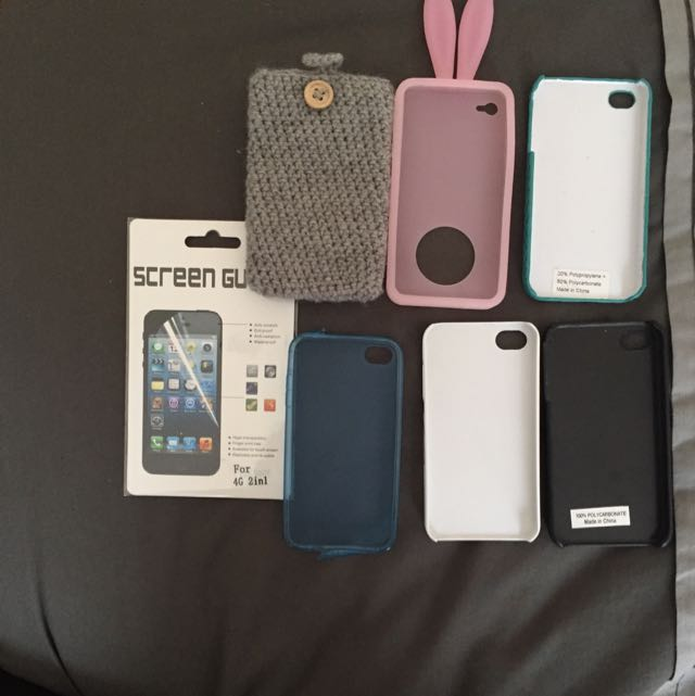 iPhone 4 Cases and Screen Protector