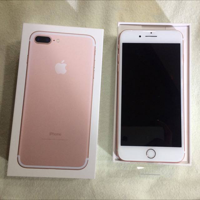 全新iPhone 7plus 玫瑰金32G