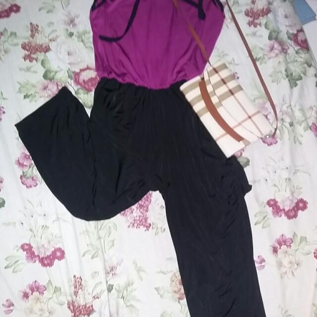 Jersey Jumpsuit Pl