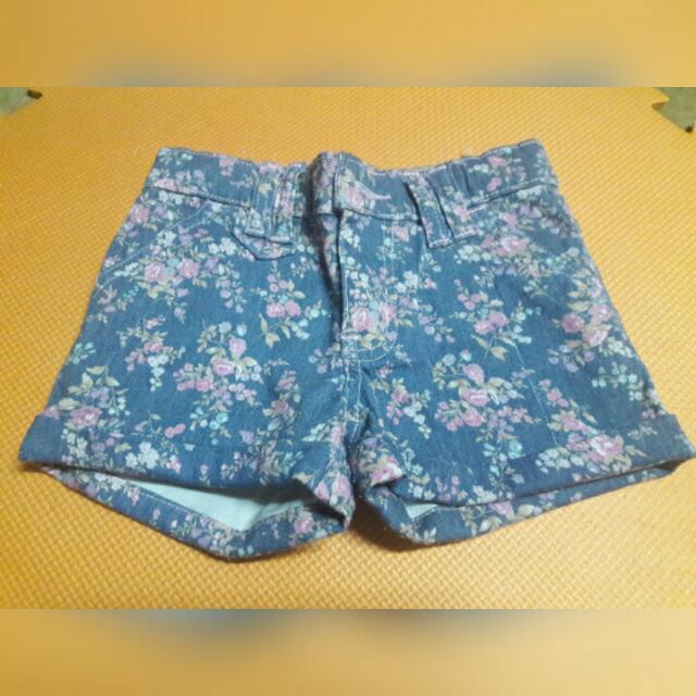 Kids - Floral Shorts