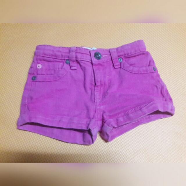 Kids - Pink Shorts