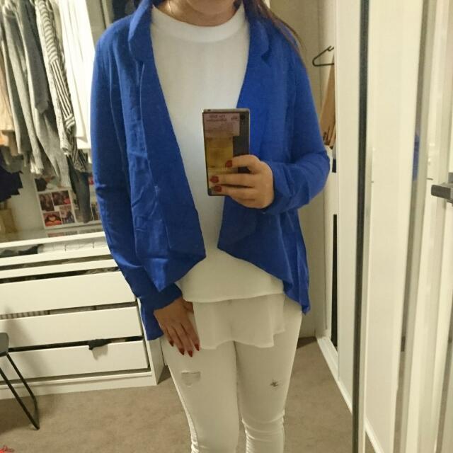 Ladakh Blue Blazer Size 6
