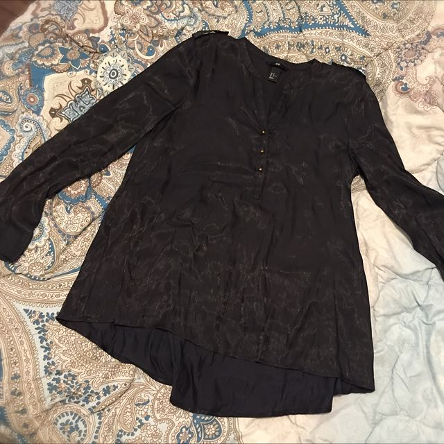 Long Sleeves H&M Button Up
