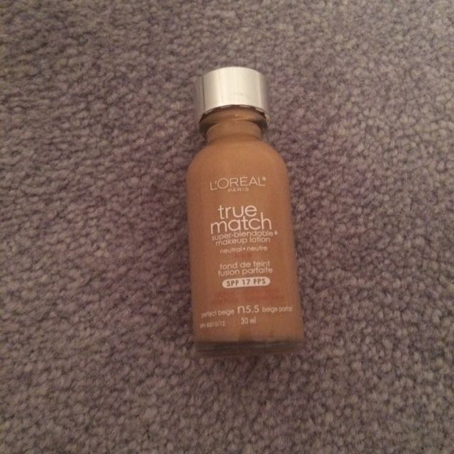 L'oreal True Match Foundation Shade N5.5