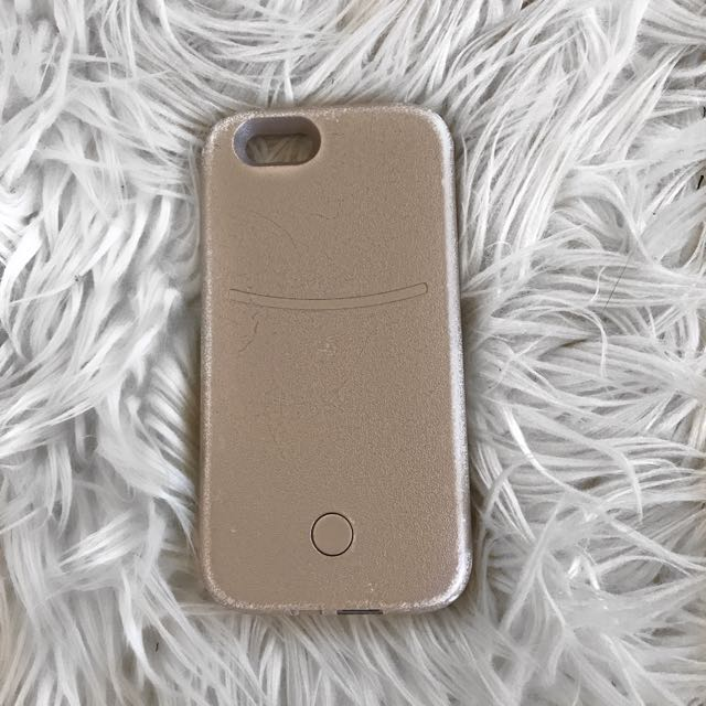 Light up selfie case