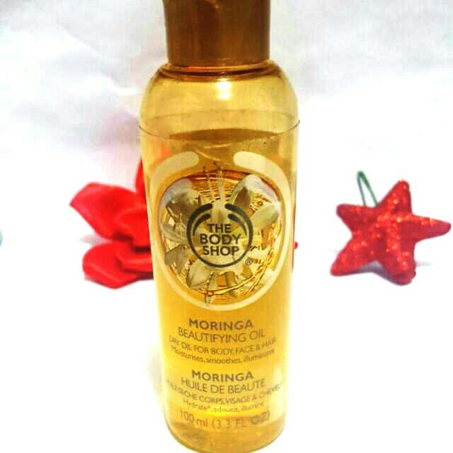 MORINGA Beautifying Oil THE BODY SHOP ORI