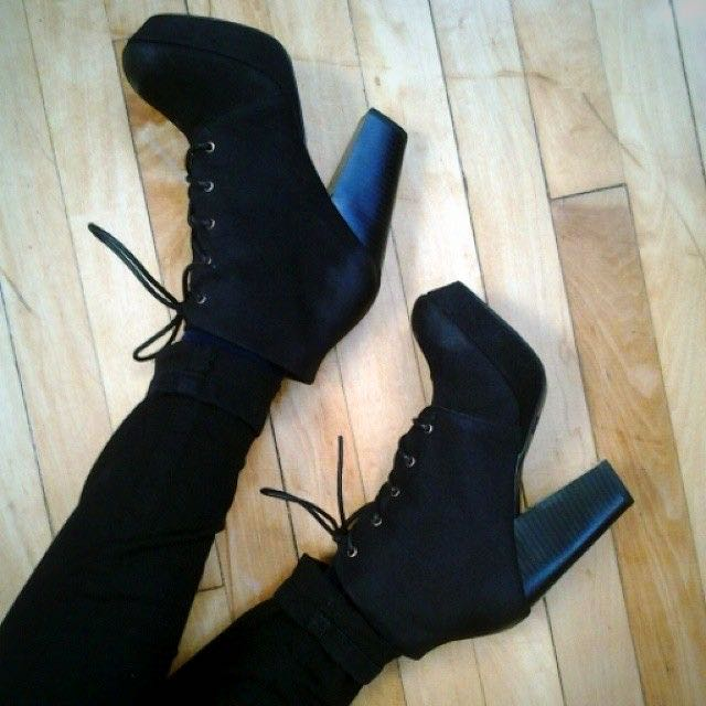 Mossimo Supply Co. Susan Suede Booties