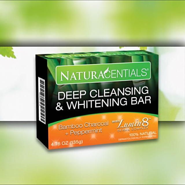 NaturaCentials Deep Whitening Cleansing Bar