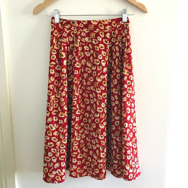 Free Shipping Princess Highway Midi Skirt