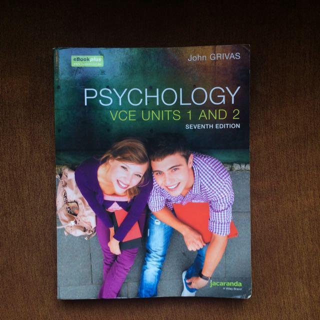 Psychology VCE Units 1&2 Seventh Edition