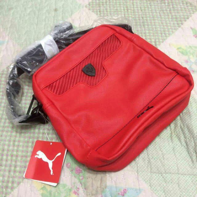 c0f1e0fb98 Puma ferrari sling bag red only!