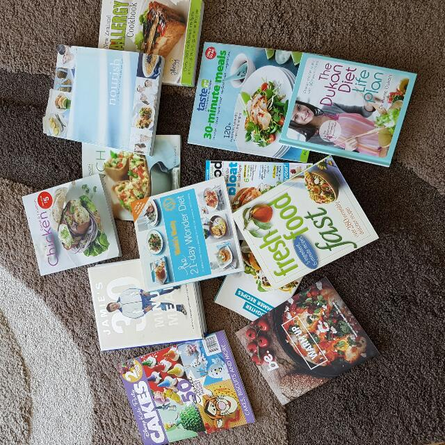 Range Of Cookbooks