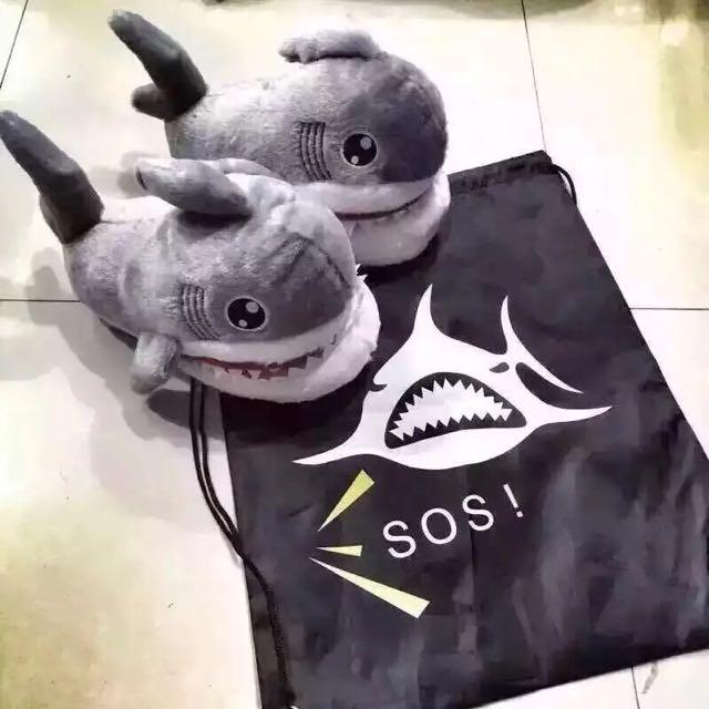 SOS Shark Slipper