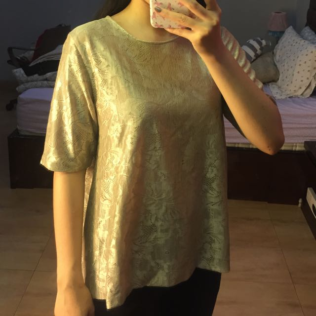 Shopatvelvet Top Golden Cream