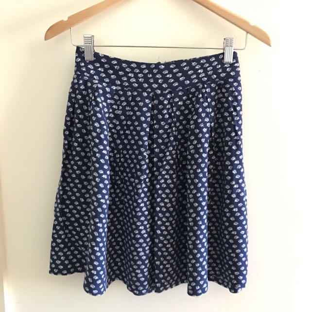 Free Shipping Sportsgirl Mini A-line Skirt