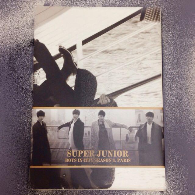 Super Junior BOYS IN CITY SEASON 4.PARIS