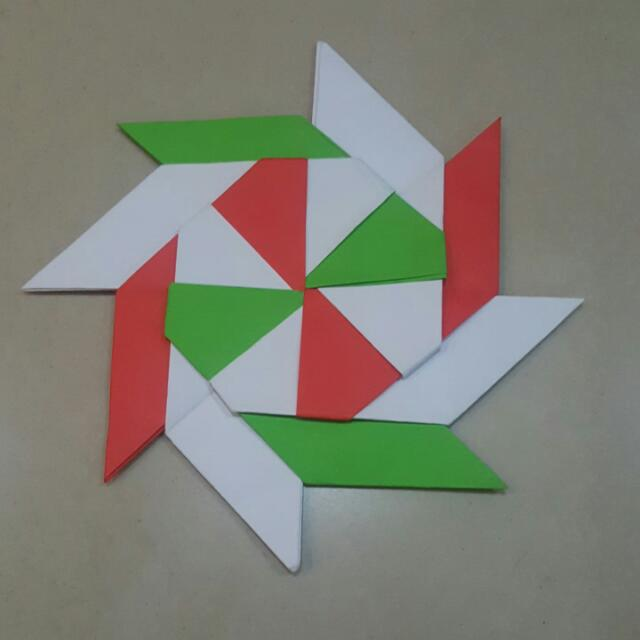 How To Make Paper Transforming Ninja Star | Easy Origami Lucky ... | 640x640