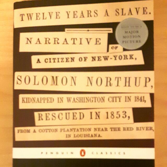 Twelve Years A Slave Narrative