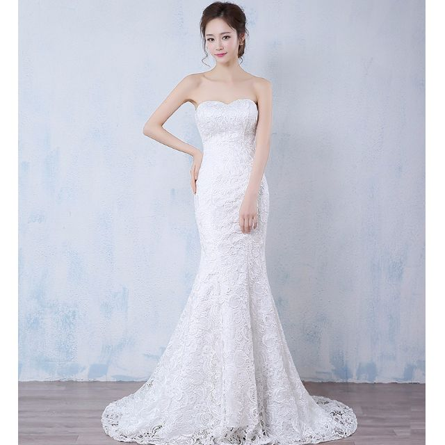 Wedding Collection 2016 Heart Shape Tube Style Wedding Gown