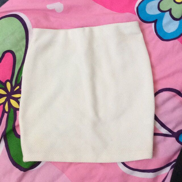 White Going Out Skirt