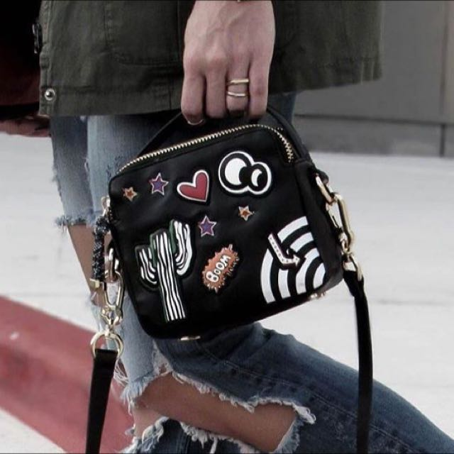 Zara Double Zip Boom