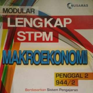 Makroekonomi, Ekonomi MALAYSIA, P.Perniagaan Sem 3 BOOKS FOR SALE (STPM)
