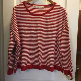 Zar Flowy Striped Long Sleeve