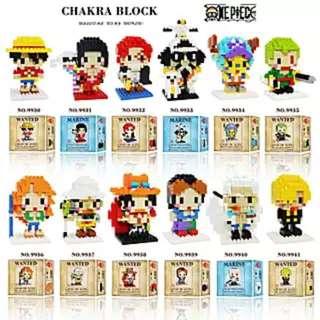 One Piece Diamond Blocks