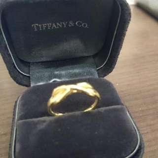 🚚 tiffany&co 無限  K金戒指