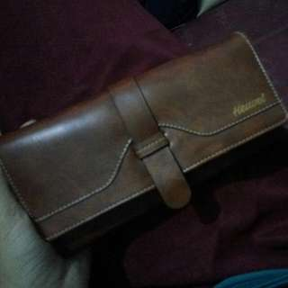 Synthetic leather wallet From Heuvel