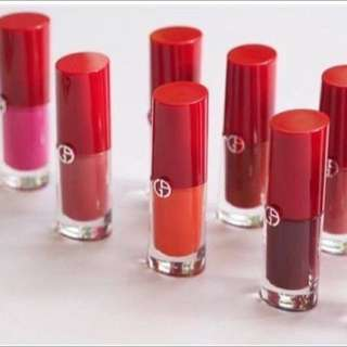 (完售)GIORGIO ARMANI lip magnet 奢華唇釉 唇釉 奢華cc唇釉